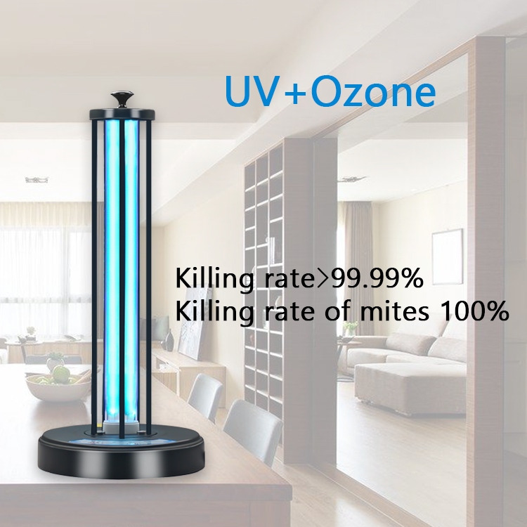 uvc ozone disinfection lamp UV lighting for sterilization germicidal UVD-2040B