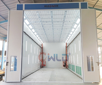 Bus Spray Booth With 3D Lifter
