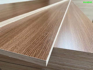 18MM Poplar Core Melamine Plywood For Furniture