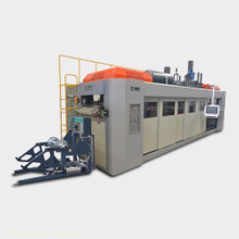 Three Working Station Full Servo Motor High Speed Thermoforming Machine