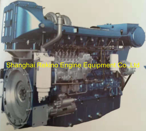 550HP 1800RPM Weichai marine propulsion boat diesel engine WP13C550-18