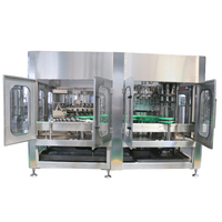 6000-8000BPH Three Function In One,Beer Filling Device For Glass Bottle(BGF32-32-10)