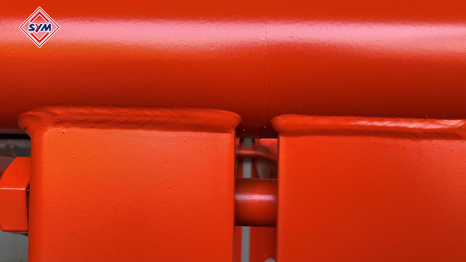 passenger hoist mast section