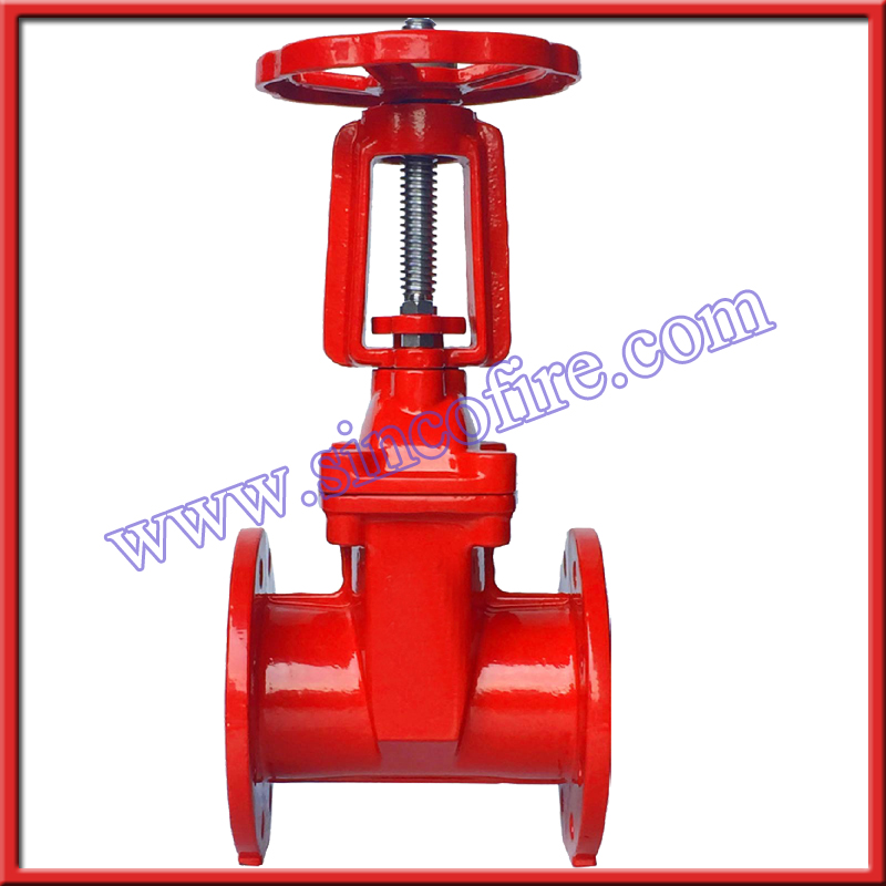 Z41X Cast Iron Rising Type Stem gate valve PN16