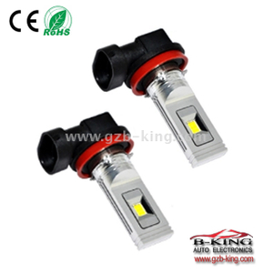 New 10-30V 1200lm H11 CSP LED fog light