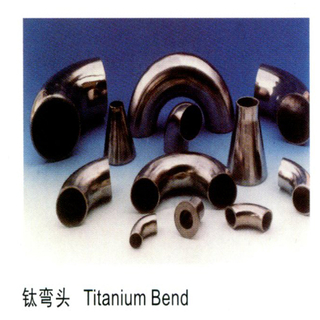 30°, 45 °, 60° , 90 °, 180 ° titanium bends Gr2 titanium elbow tube fitting