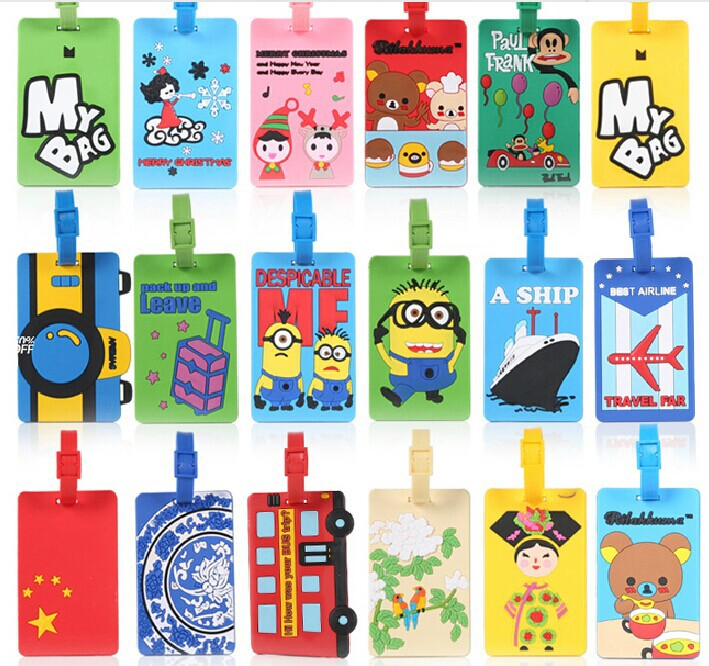 Personalized Soft PVC Luggage Tags