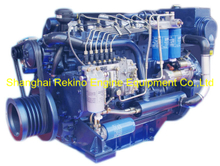 220HP 2300RPM Weichai Deutz marine propulsion boat diesel engine (WP6C220-23)