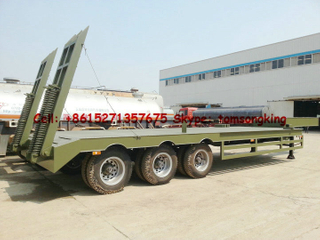 45T~60T Lowboy trailer Customization