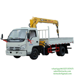 2T 88HP Truck Mounted Crane 4x2 FOTON for sale