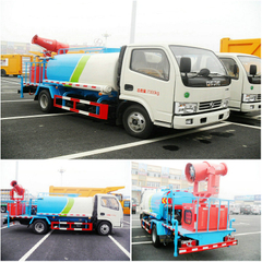 Dongfeng 4x2 Spray water tank truck 4T with Fan pump