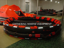 Open Reversible Inflatable Life Raft