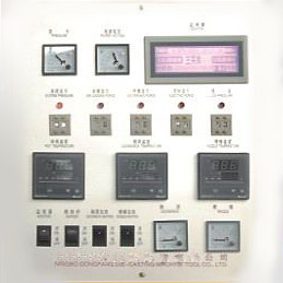 Special touchscreen for imported die casting machine.