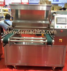 Twin Color Cookies And Biscuits Depositor Cookie Making Machine