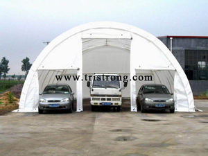 Dome Shape Shelter, Prefabricated Building, Dome Shape Carport, Semicircle Warehouse, Parking (TSU-3040/3065)
