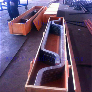 titanium clad copper bar for Gold Desorption Electrolysis System