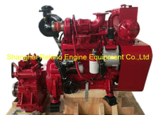 Cummins 4BTA3.9-M rebuilt reconstructed marine diesel engine with gearbox (82-120HP 2200RPM)