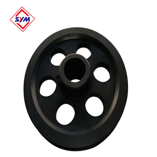 440MM High Mechanical Strength Rope Steel Pulley For Tower Crane F023B