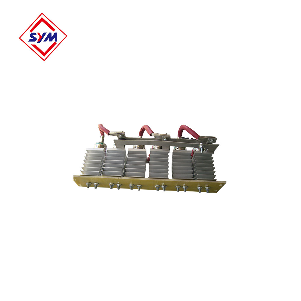 Rectifier bridge for tower crane