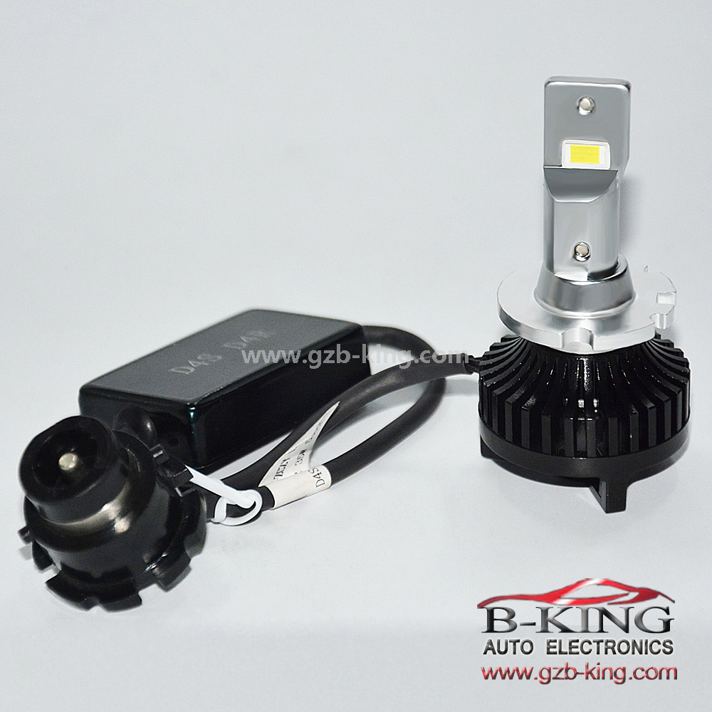 Auto Lamps Error Free Canbus D4S Car LED Headlight