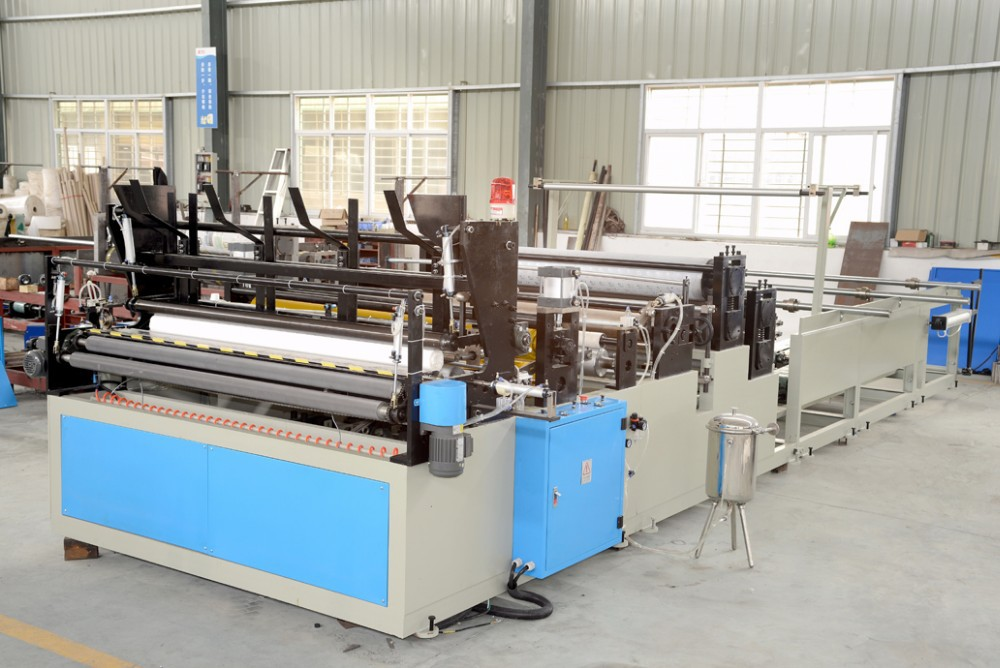 small toilet paper roll manufacturing machine
