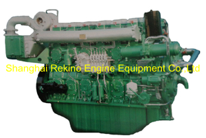 700HP 1350RPM Yuchai marine propulsion boat diesel motor engine (YC6CD700L-C20)