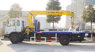 Dongfeng Recovery Trucks with crane