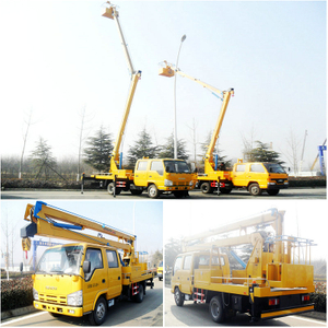 Isuzu 12-16m telescopic type aerial platform truck