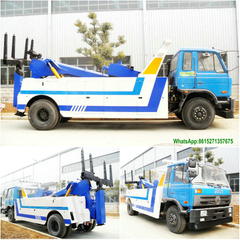 Dongfeng 8T towing conjoined wrecker truck