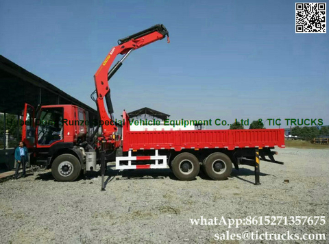 IVECO truck Mounted Crane Palfinger 6x4