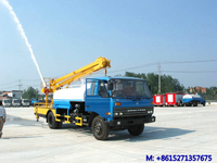 DTA 145 Multi-fonction water tank truck with aerial platform height 14m