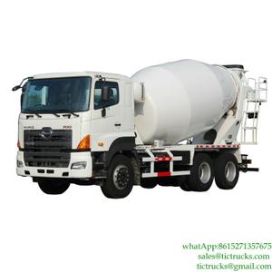 HINO 6x4 Concrete Transit Mixer Euro  4 ,5