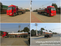 Ammonium nitrate Stainless steel tank truck trailer 27-33m3 for sale