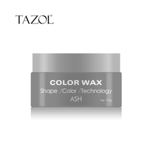 Tazol Temporary Hair Color Wax with Ash Color 100g