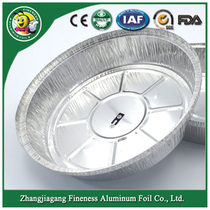 Aluminum Foil Container (F5007) for Fast Food Taking