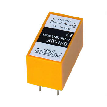 China JGX-1FA PCB Type DC solid state relay, solid state
