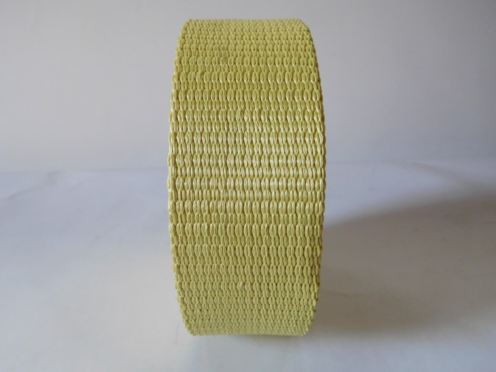 75mm High strong pulling force aramid fiber webbing for ship factory