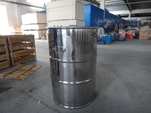 200 Liter Stainless Steel Drum