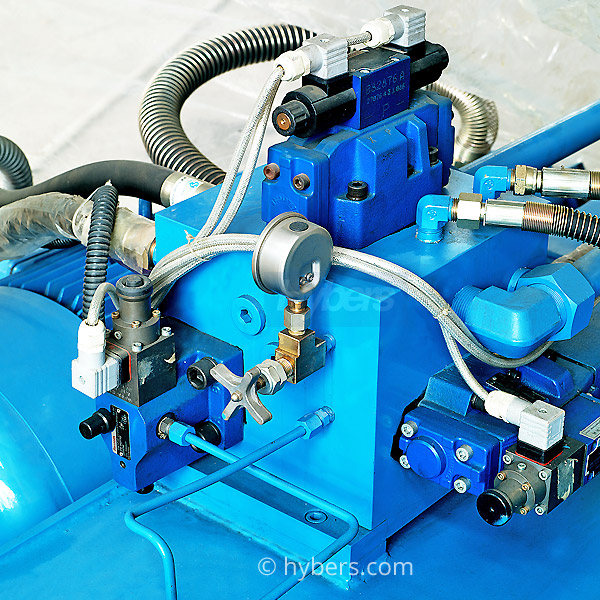 valve of cold chamber die casting machine