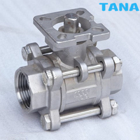 3 Piece Thread End Ball Valve