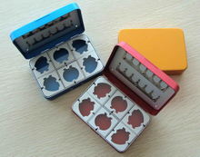 various colored aluminium fly box