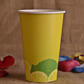 Customized Disposable Cold Drinks Paper Cup