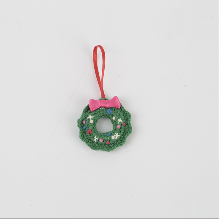 Hand Knitted Christmas ornament