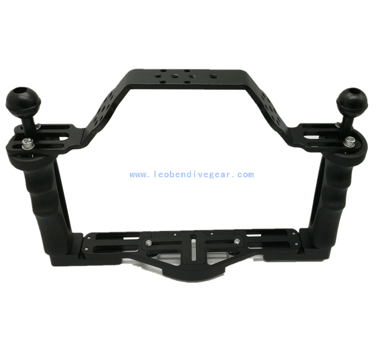 Aluminum Underwater Camera Housing Tray Holder Carrier