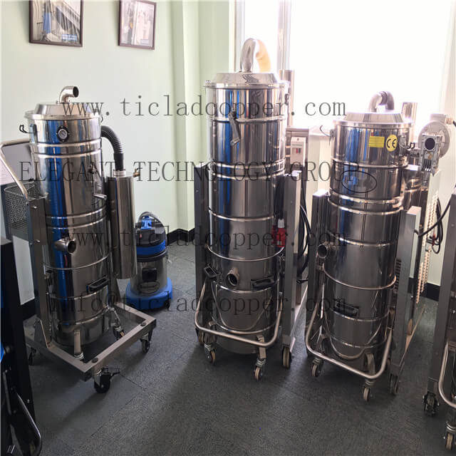 WR/WUT wet and dry Industrial Cyclone Vacuum Cleaner fume extractor / dust collector for CNC