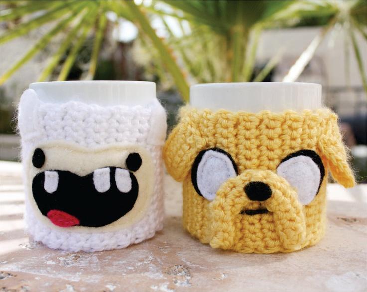 Funny Cartoon Hand Knit Cup Warmers Coffee Mug Sweater Buy Coffee