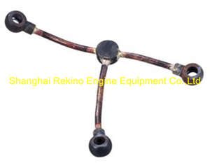 320.10.YBJHYG Rocker arm oil pipe Guangchai marine engine parts 320 6320 8320