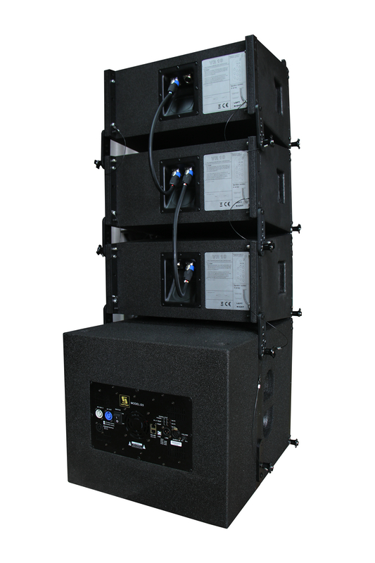 Sanway Audio VR10&S30 Compact Powered Line Array Speaker