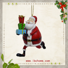 Christmas Santa Claus Gifts,resin ornaments decoration