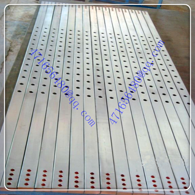 high quality ti clad copper CNC machining composite bar with hole for chloro-alkali